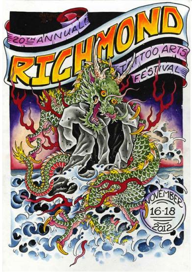 RVA Tattoo Festival Poster